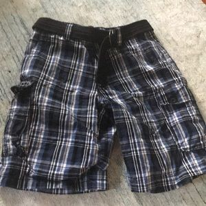 ✨Men's Plaid Cargo Shorts SZ 32